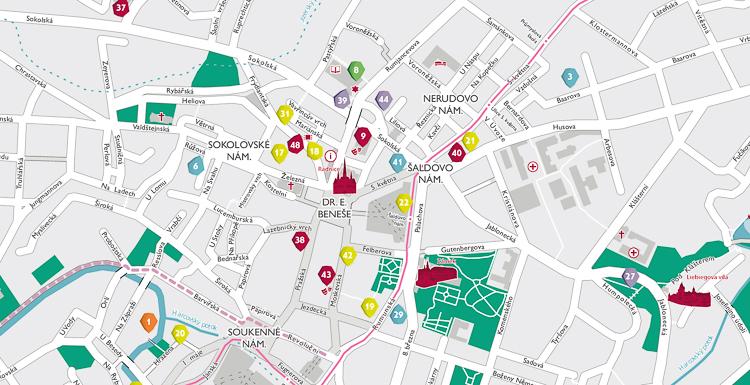 Nova Mestska Mapa Oslovi Rodice S Detmi V Liberci I Sousednim